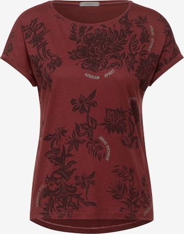 CECIL T-Shirt in Rot