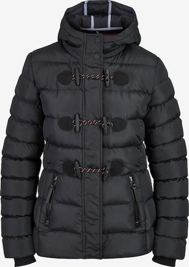 BRAVE SOUL Übergangsjacke 'LJK-PENTAGON' in schwarz, Produktansicht