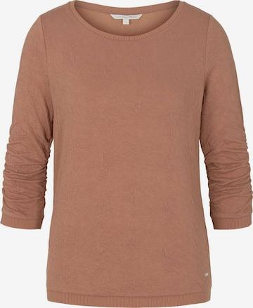 TOM TAILOR DENIM Sweatshirt in Pink