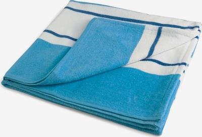 TOM TAILOR Strandtuch in blau / himmelblau / grün / weiß, Produktansicht