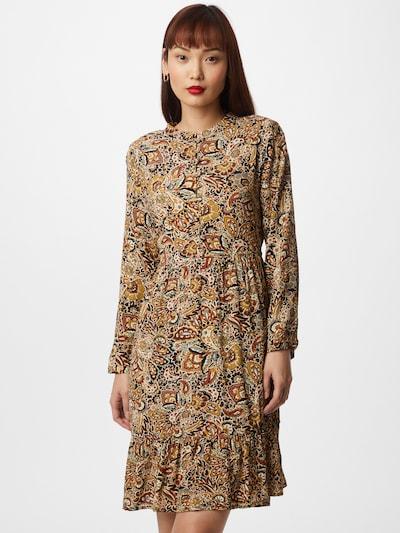 ZABAIONE Kleid 'Wissia' in camel / mischfarben, Modelansicht