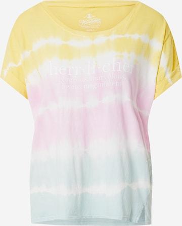 Herrlicher T-Shirt in Mischfarben