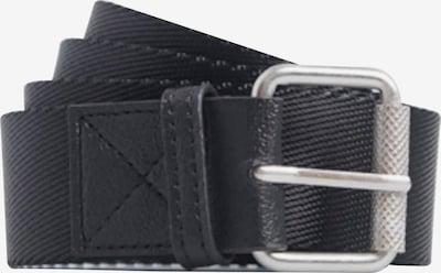 Superdry Gürtel in schwarz / silber, Produktansicht