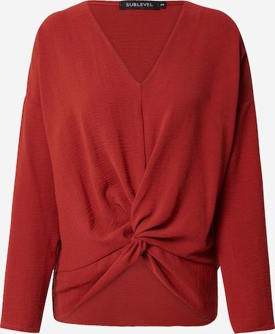 Pullover Sublevel di colore rosso ruggine, Visualizzazione prodotti