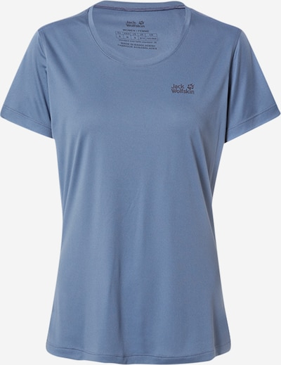 JACK WOLFSKIN Sportshirt in rauchblau / dunkelgrau, Produktansicht