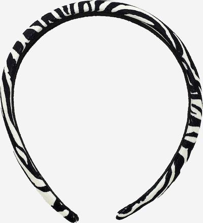 Accesorii pentru păr 'Angie' EDITED pe crem / negru, Vizualizare produs