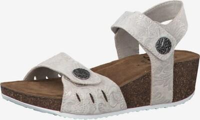 JANA Sandale in weiß, Produktansicht