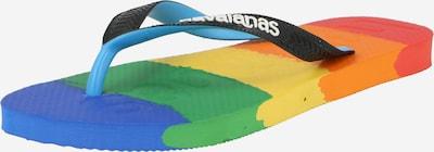 HAVAIANAS Zehentrenner in mischfarben / schwarz / weiß, Produktansicht