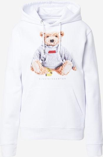 EINSTEIN & NEWTON Sweater majica u smeđa / žuta / siva melange / crvena / bijela, Pregled proizvoda