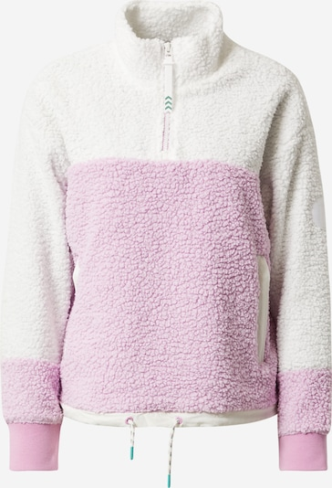 BURTON Sports sweater in pink / white, Item view