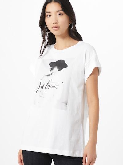 Rich & Royal Koszulka 'Je t'aime' w kolorze białym: Widok z przodu