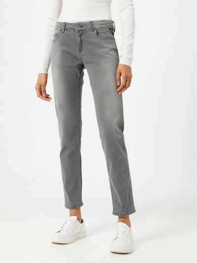 REPLAY Jeans 'Faaby' in grau, Modelansicht