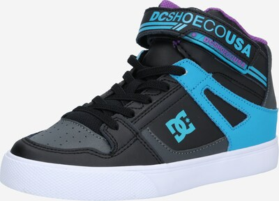 DC Shoes Sneaker in aqua / grau / dunkellila / schwarz, Produktansicht