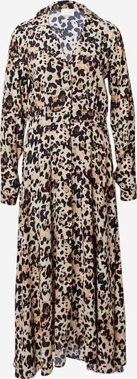 VILA Košilové šaty 'Memis' - béžová / hnědá / černá, Produkt