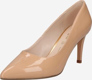 BUFFALO - Zapatos con plataforma 'FANNY2' en beige