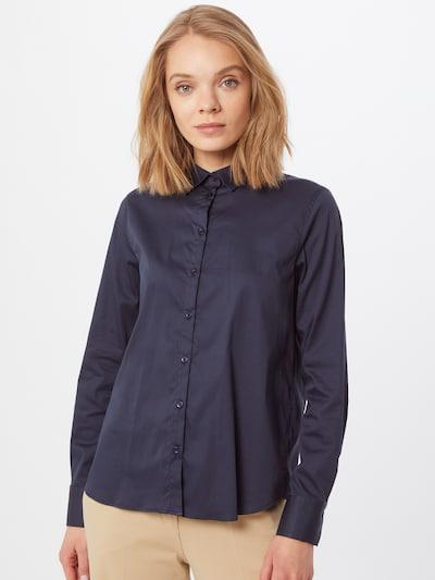 MOS MOSH Bluse 'Martina' in dunkelblau, Modelansicht