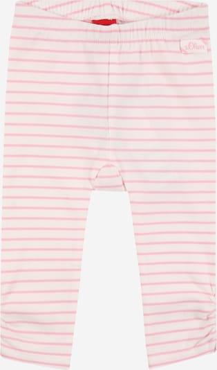 s.Oliver Leggings in rosé / weiß, Produktansicht