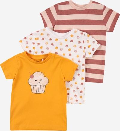 NAME IT Shirt 'BAILASAN' in beige / goldgelb / rosegold / mischfarben / rosa, Produktansicht