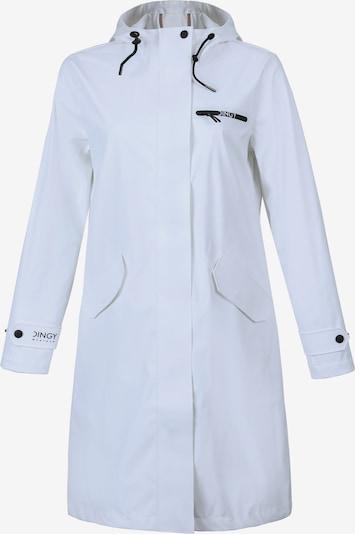 Dingy Rhythm Of The Rain Mantel 'Belle' in weiß, Produktansicht