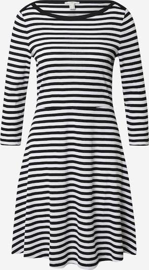 EDC BY ESPRIT Kleid in schwarz / weiß, Produktansicht