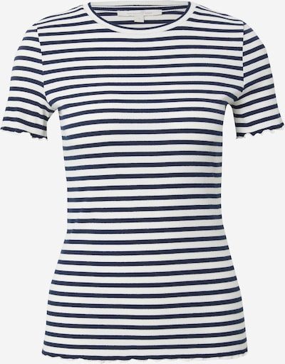 TOM TAILOR DENIM Majica u tamno plava / bijela, Pregled proizvoda