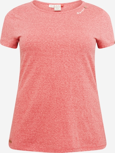 Tricou 'MINT' Ragwear Plus pe roșu, Vizualizare produs