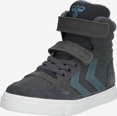 Hummel Zapatillas deportivas 'Stadil Oiled' en azul / gris oscuro, Vista del producto