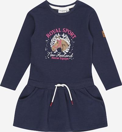 SALT AND PEPPER Kleid 'Royal' in dunkelblau / mischfarben, Produktansicht