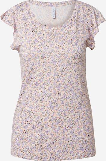 Hailys T-shirt 'Rosie' en violet / orange / blanc, Vue avec produit