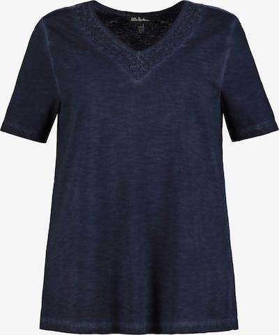 Ulla Popken Shirt in de kleur Marine, Productweergave