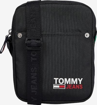 Tommy Jeans Taška cez rameno - červená / čierna / biela, Produkt