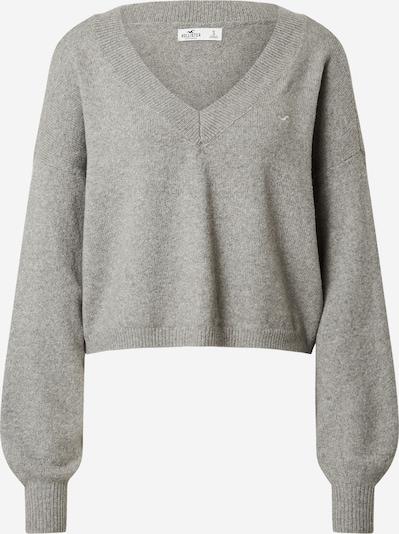 HOLLISTER Pullover 'HONEYCOMB' in grau, Produktansicht
