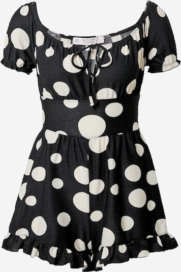 Miss Selfridge (Petite) Overal 'BARDOT' - černá / bílá, Produkt