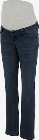 MAMALICIOUS Jeans 'EASTON' in Blauw