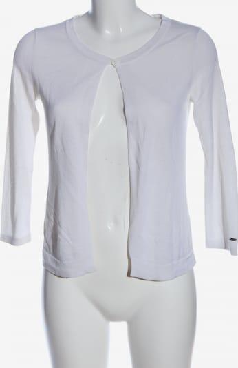 TOMMY HILFIGER Strick Cardigan in S in weiß, Produktansicht