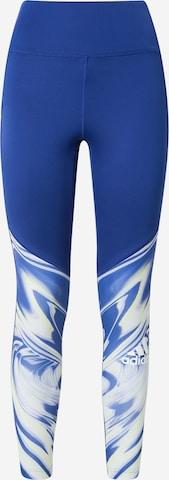 ADIDAS PERFORMANCE Športové nohavice - Modrá