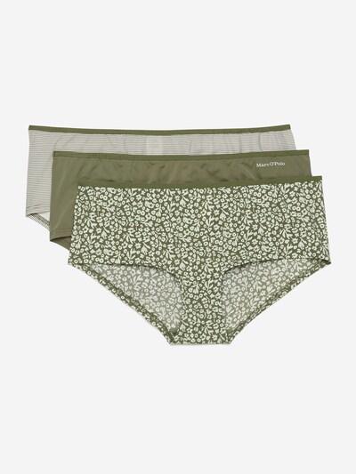 Marc O'Polo Bodywear Pantys ' 3er-Pack ' in oliv, Produktansicht