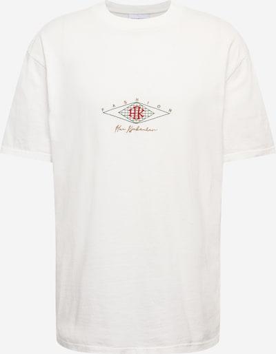 Marškinėliai iš Han Kjøbenhavn , spalva - Auksas / tamsiai žalia / raudona / natūrali balta, Prekių apžvalga