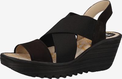 FLY LONDON Sandale in schwarz, Produktansicht