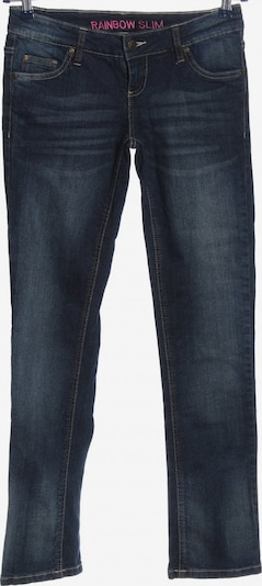 Rainbow Straight-Leg Jeans in 27-28 in blau, Produktansicht