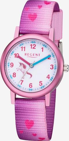 REGENT Mädchenuhr in Pink