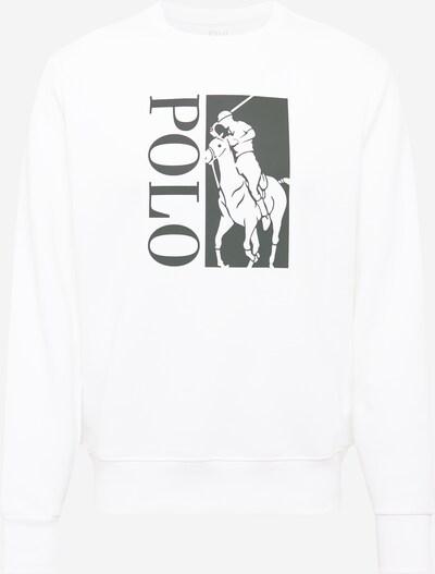 POLO RALPH LAUREN Sudadera en negro / offwhite, Vista del producto