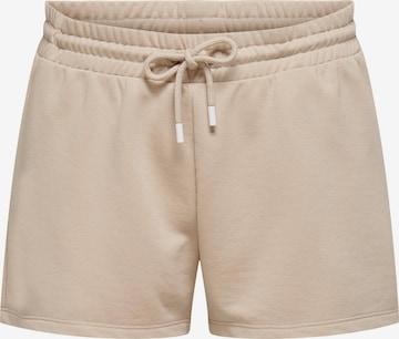 smėlio ONLY PLAY Sportinės kelnės 'Jelly'