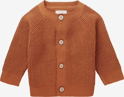 Noppies Strickjacke 'Sutton' in orange, Produktansicht