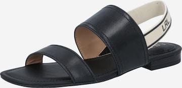 Sandales 'KARTER' Lauren Ralph Lauren en noir