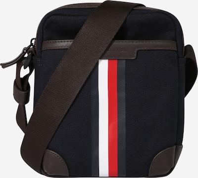 TOMMY HILFIGER Bolso de hombro en navy / pueblo / rojo claro / blanco, Vista del producto