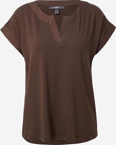 Esprit Collection T-shirt i mörkbrun, Produktvy