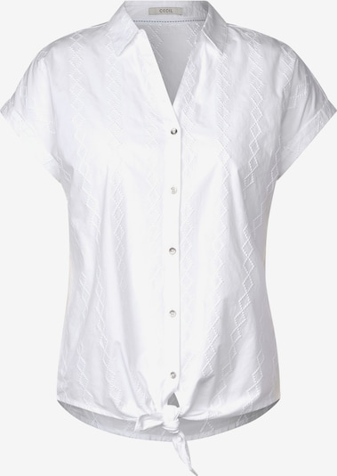 CECIL Hemdbluse in weiß, Produktansicht