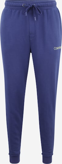 Calvin Klein Underwear Панталон в синьо / пастелно жълто, Преглед на продукта
