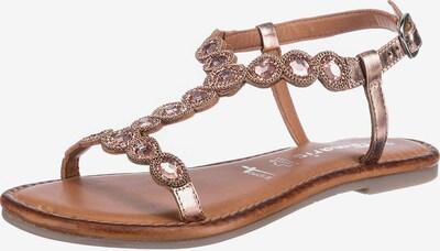 TAMARIS Páskové sandály - růžově zlatá, Produkt